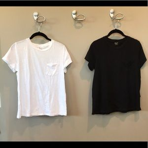Madewell cotton T's